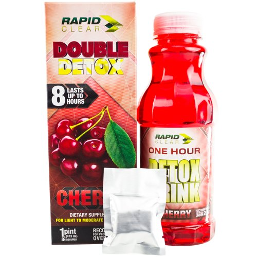 Rapid Clear cherry double detox drink